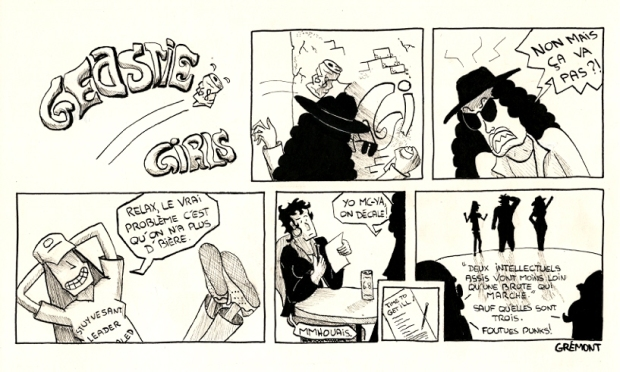 Comic Strip GG 72
